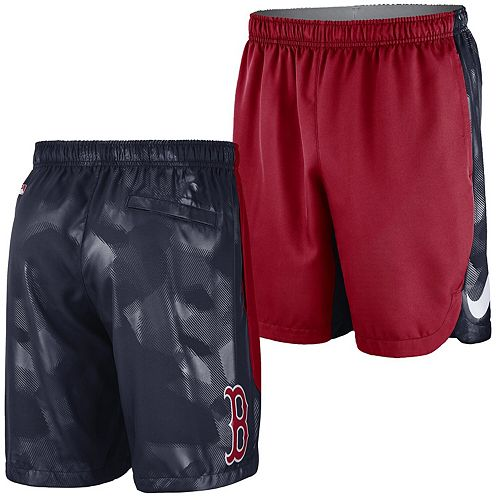 Men's Nike Red Boston Red Sox Authentic Collection Team Logo Performance Shorts