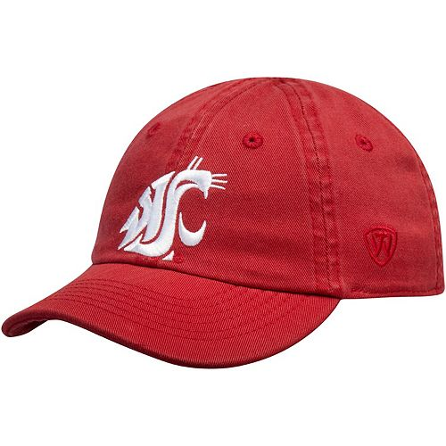 Infant Top of the World Crimson Washington State Cougars Mini Me Adjustable Hat
