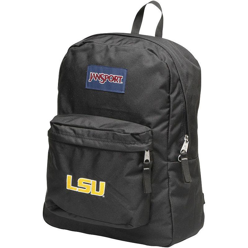 Jansport LSU Tigers Superbreak Backpack. Black
