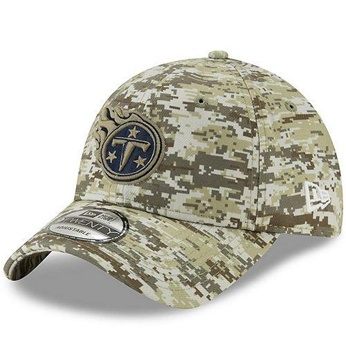 Men's New Era Camo Tennessee Titans Digi 9TWENTY Adjustable Hat