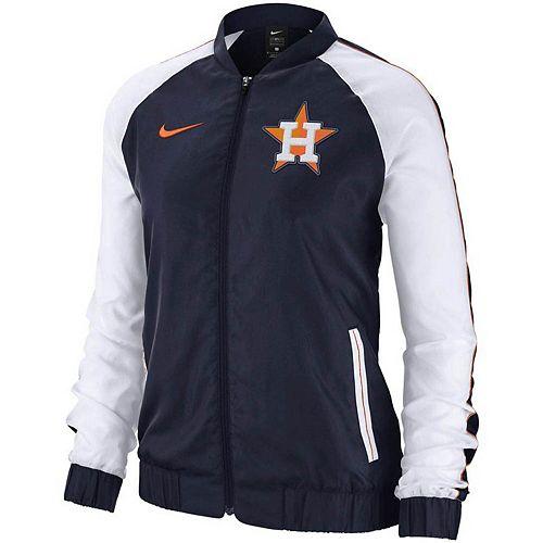 Women's Nike Navy Houston Astros Varsity Full-Zip Jacket