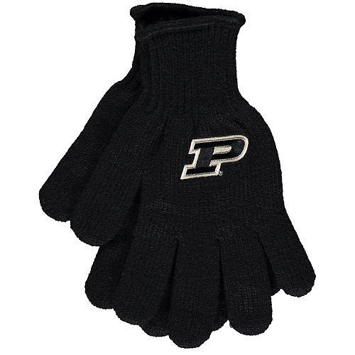 Black Purdue Boilermakers Tailgate Gloves