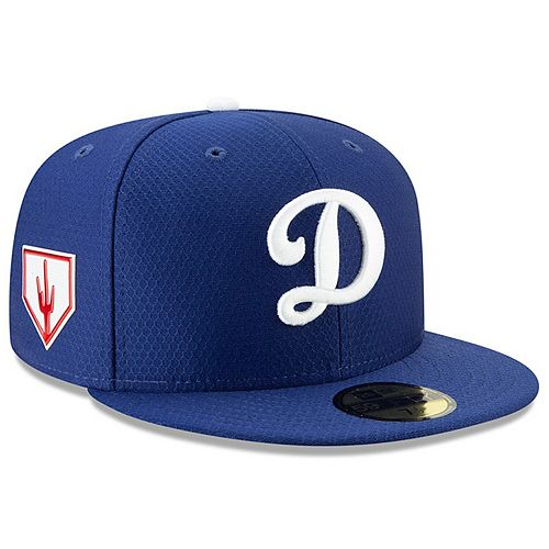 Men's New Era Blue Los Angeles Dodgers 2019 Spring Training 59FIFTY Fitted Hat