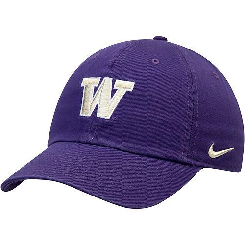 Men's Nike Purple Washington Huskies Heritage 86 Logo Performance Adjustable Hat