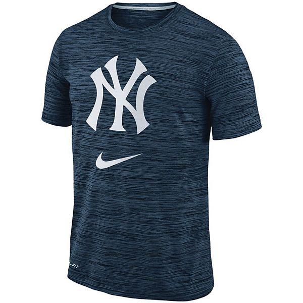 Men's Nike Navy New York Yankees Velocity Performance T-Shirt