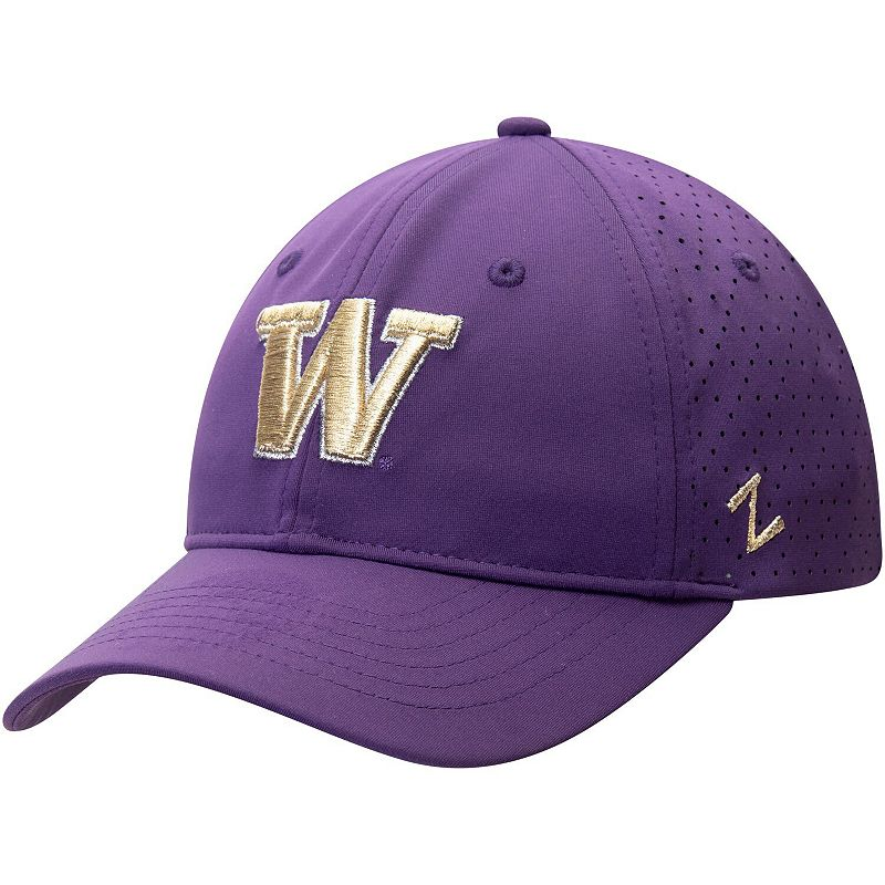 Women's Zephyr Purple Washington Huskies Envy Adjustable Hat