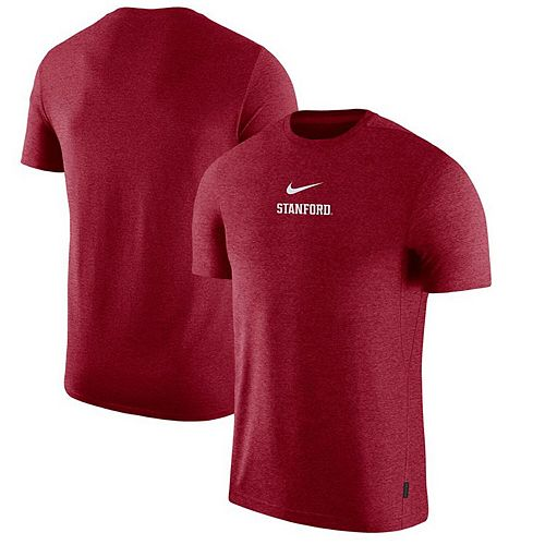 Men's Nike Cardinal Stanford Cardinal 2019 Coaches Sideline UV Performance Top