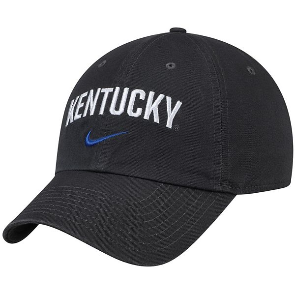 Men's Nike Anthracite Kentucky Wildcats Heritage 86 Arch Adjustable Performance Hat