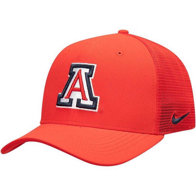 Men's Nike Red Arizona Wildcats Aerobill Meshback Swoosh Performance Flex Hat, Size: Medium/Large