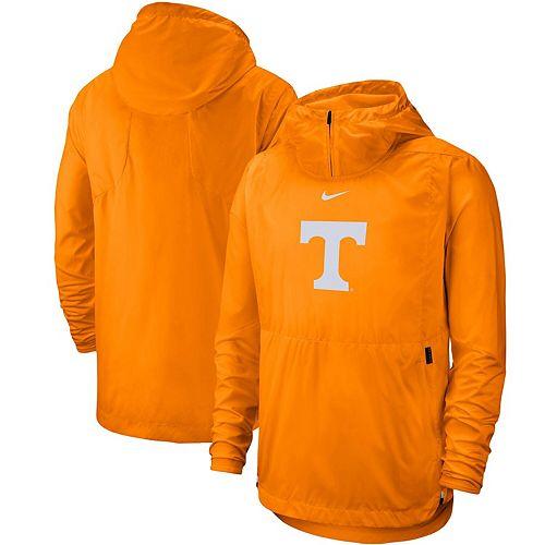 Men's Nike Tennessee Orange Tennessee Volunteers Player Repel Quarter-Zip Hooded Jacket