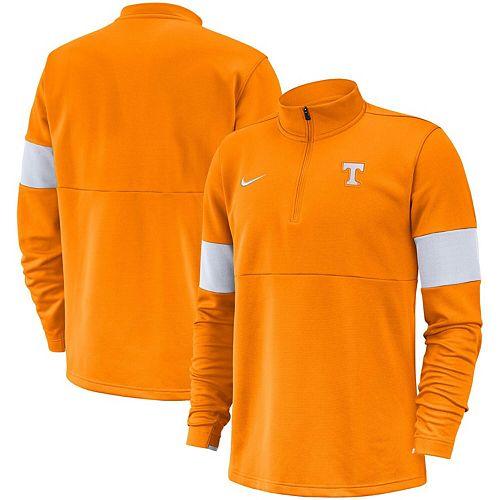 Men's Nike Tennessee Orange Tennessee Volunteers 2019 Coaches Sideline Performance Half-Zip Pullover Jacket