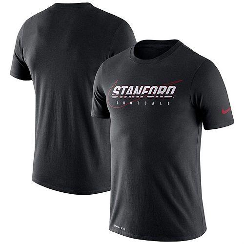 Men's Nike Black Stanford Cardinal Facility Performance T-Shirt