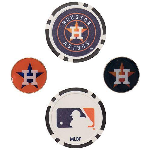 Houston Astros Ball Marker Set