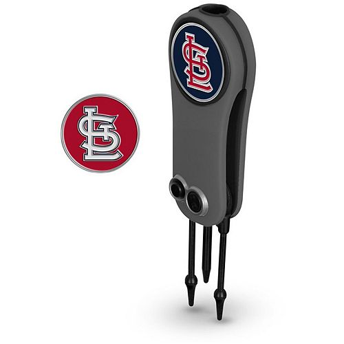 St. Louis Cardinals Switchblade Repair Tool & Two Ball Markers