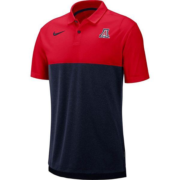 Men's Nike Red Arizona Wildcats Early Season Polo