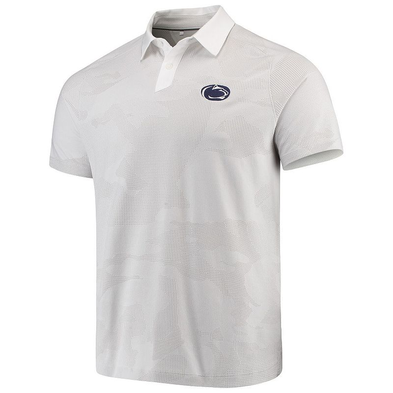 Men's Under Armour Gray Penn State Nittany Lions Sproket Performance Polo. Size: XL. Grey