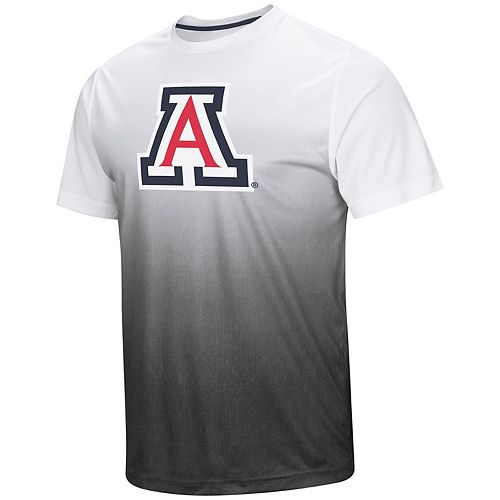 Men's Colosseum Gray Arizona Wildcats Magic Gradient T-Shirt