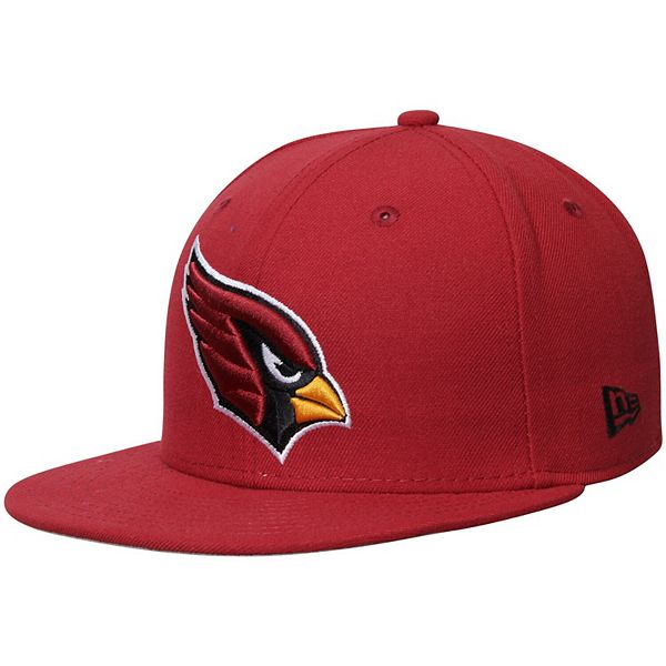 Men's New Era Cardinal Arizona Cardinals Omaha 59FIFTY Fitted Hat
