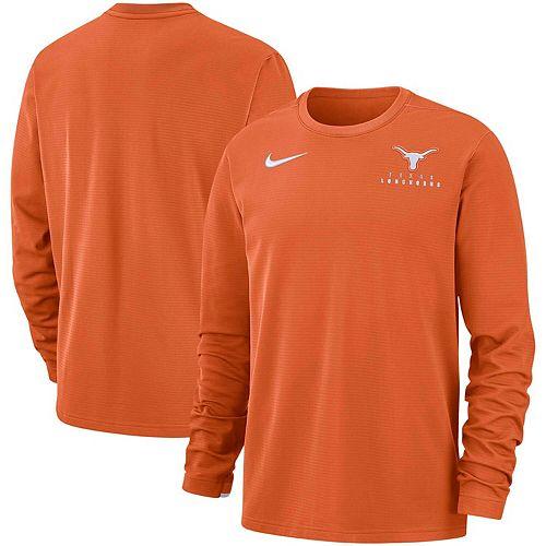 Men's Nike Texas Orange Texas Longhorns Performance Sweatshirt