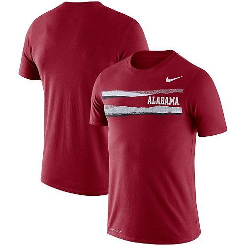 Men's Nike Crimson Alabama Crimson Tide Performance Cotton Mezzo T-Shirt