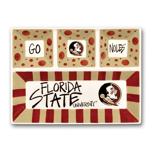 Florida State Seminoles Four Section Platter