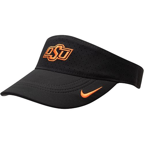 Oklahoma State Cowboys Nike Sideline Performance Visor - Black