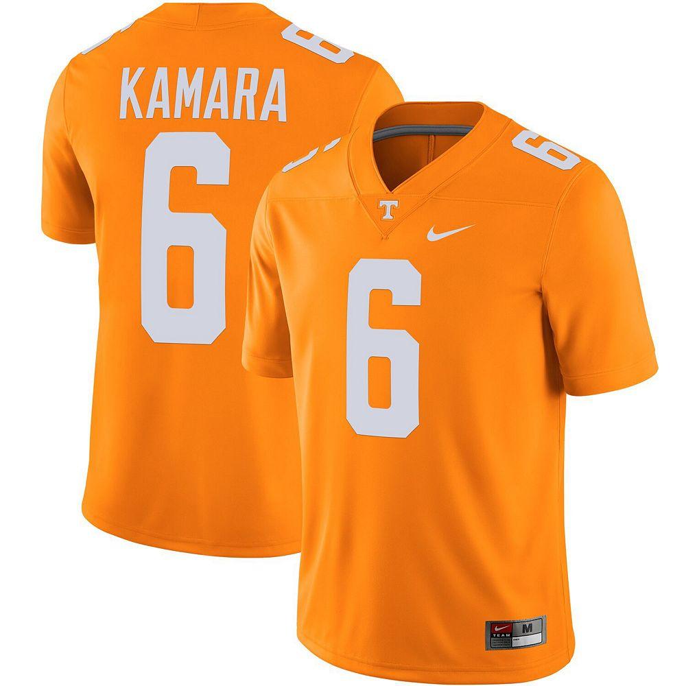 Men's Nike Alvin Kamara Tenn Orange Tennessee Volunteers Alumni Player Game Jersey