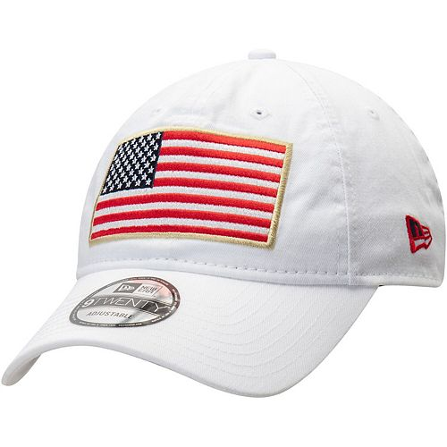 Air Force Falcons New Era Country First 9TWENTY Adjustable Hat - White