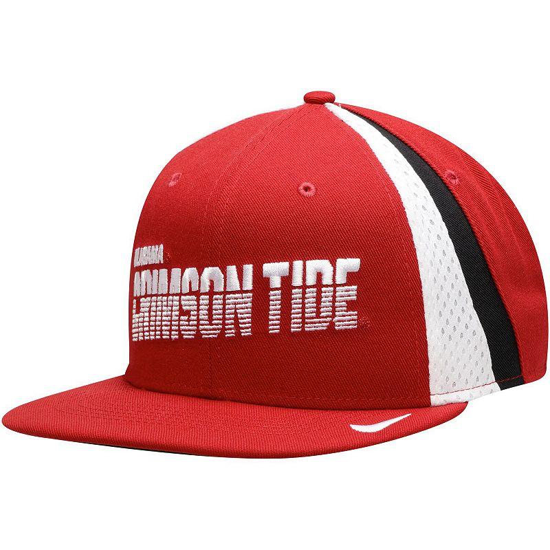 Men's Nike Crimson Alabama Crimson Tide Sideline Pro Adjustable Snapback Hat. Red