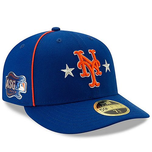 Men's New Era Royal New York Mets 2019 MLB All-Star Game On-Field Low Profile 59FIFTY Fitted Hat