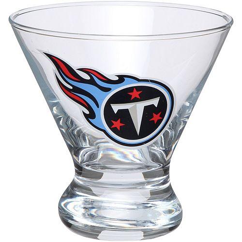 Tennessee Titans Martini Glass