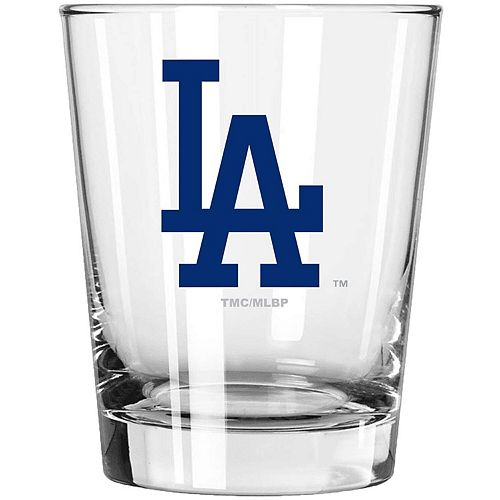 Los Angeles Dodgers 15oz. Double Old Fashioned Glass