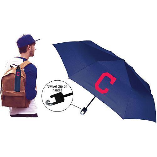 Cleveland Indians Super Mini Umbrella With Storm Clip