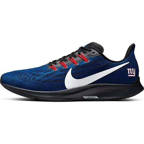 Men's Nike Blue/White New York Giants Air Zoom Pegasus 36 Running Shoes