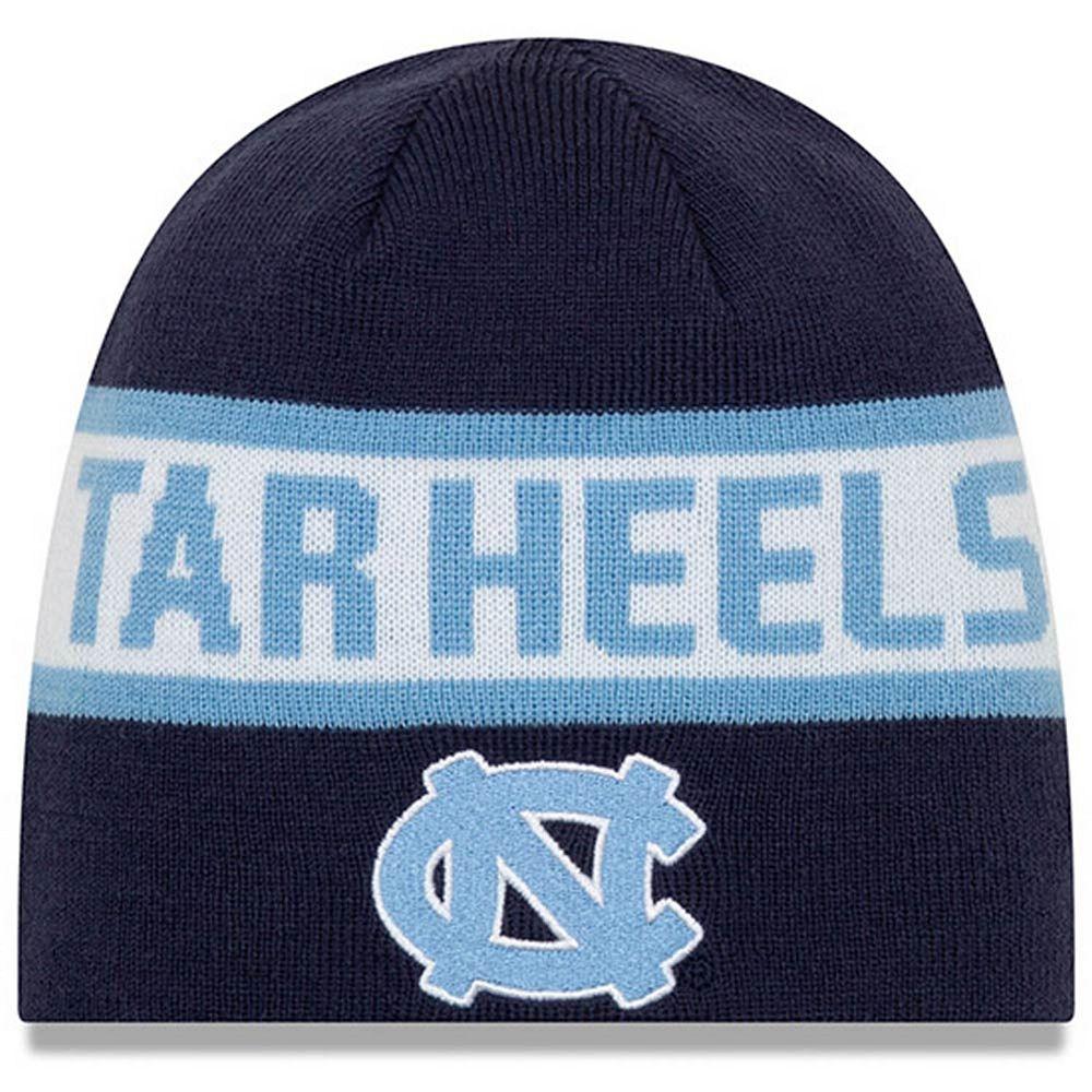 Men's New Era Carolina Blue North Carolina Tar Heels Reversible Knit Beanie