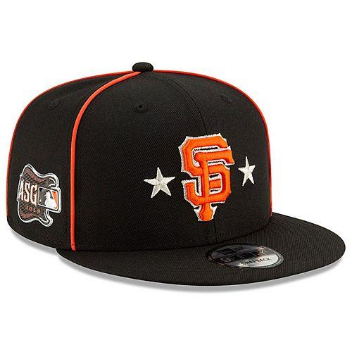 Men's New Era Black San Francisco Giants 2019 MLB All-Star Game 9FIFTY Snapback Adjustable Hat