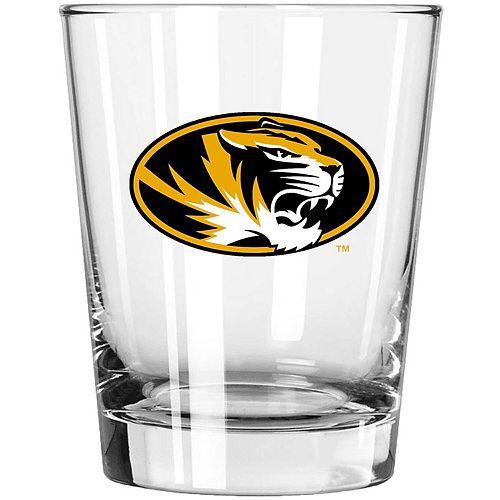 Missouri Tigers 15oz. Double Old Fashioned Glass