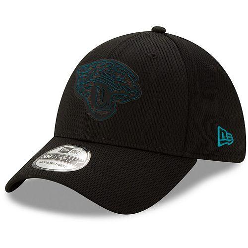 Men's New Era Black Jacksonville Jaguars Mold 39THIRTY Flex Hat