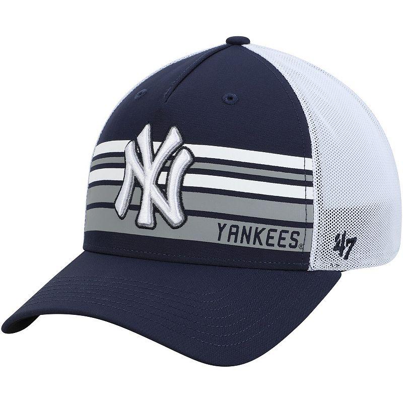 Men's '47 Navy New York Yankees Altitude MVP Adjustable Hat. Blue
