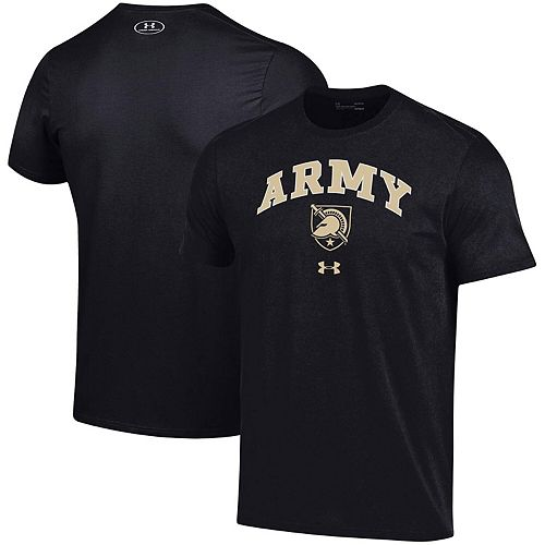 Men's Under Armour Black Army Black Knights Arched Performance T-Shirt