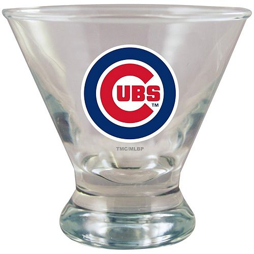 Chicago Cubs Martini Glass