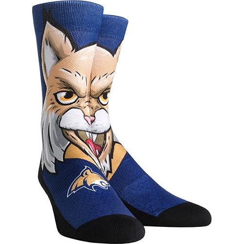 Women's Montana State Bobcats Mascot Crew Socks