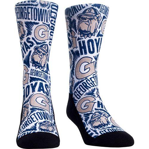 Women's Georgetown Hoyas Logo Sketch Crew Socks