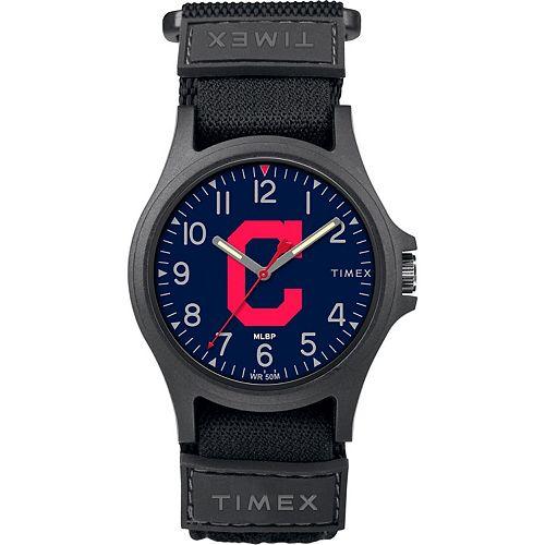 Men's Timex Cleveland Indians Pride Watch
