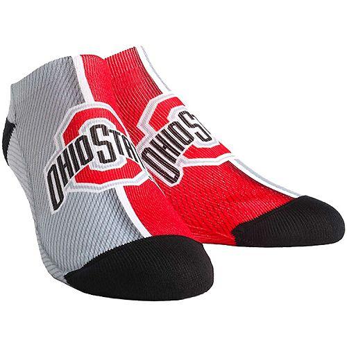Women's Ohio State Buckeyes Campus Stripe Ankle Socks