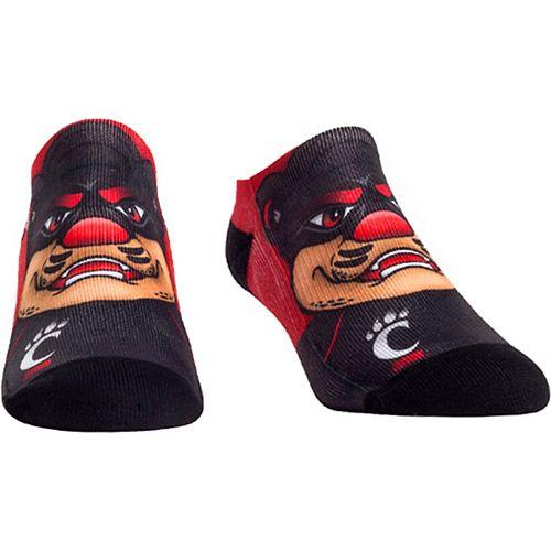 Men's Cincinnati Bearcats Mascot Low Ankle Socks