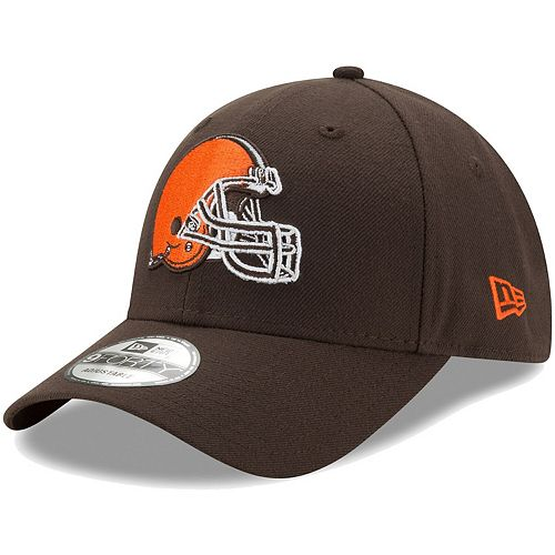 Men's New Era Brown Cleveland Browns The League 2.0 9FORTY Adjustable Hat