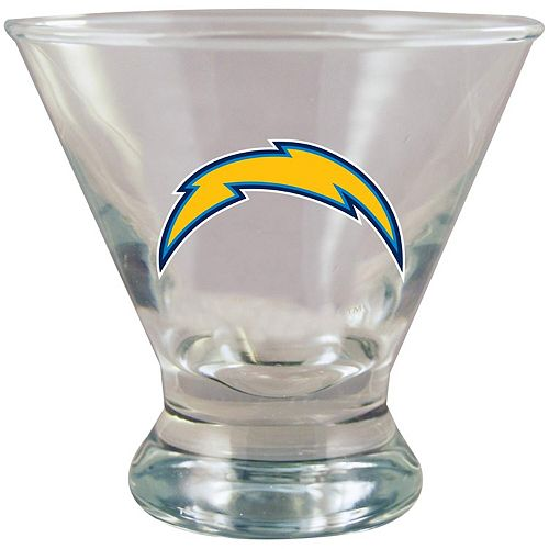 Los Angeles Chargers 10oz. Martini Glass