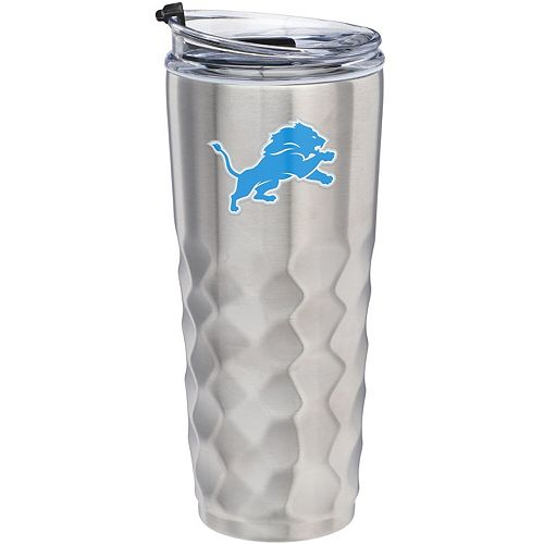 Detroit Lions 32oz. Stainless Steel Diamond Tumbler