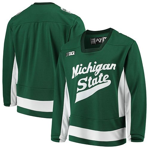 Michigan State Spartans Replica Hockey Jersey - Green